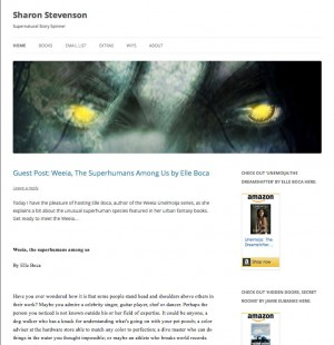 Guest article Sharon Stevenson website