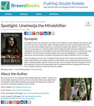 Breenibooks.com Mindshifter spotlight