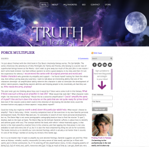 Truth in Fantasy Spiritshifter post