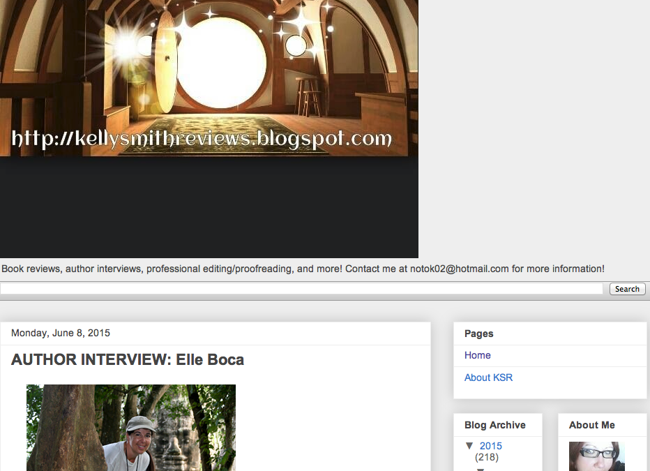 Kelly Smith Reviews Elle interview