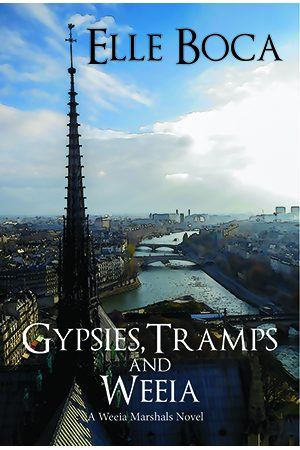 New Paris urban fantasy Goodreads giveaway