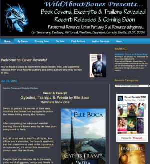 Gypsies, Tramps and Weeia cover reveal