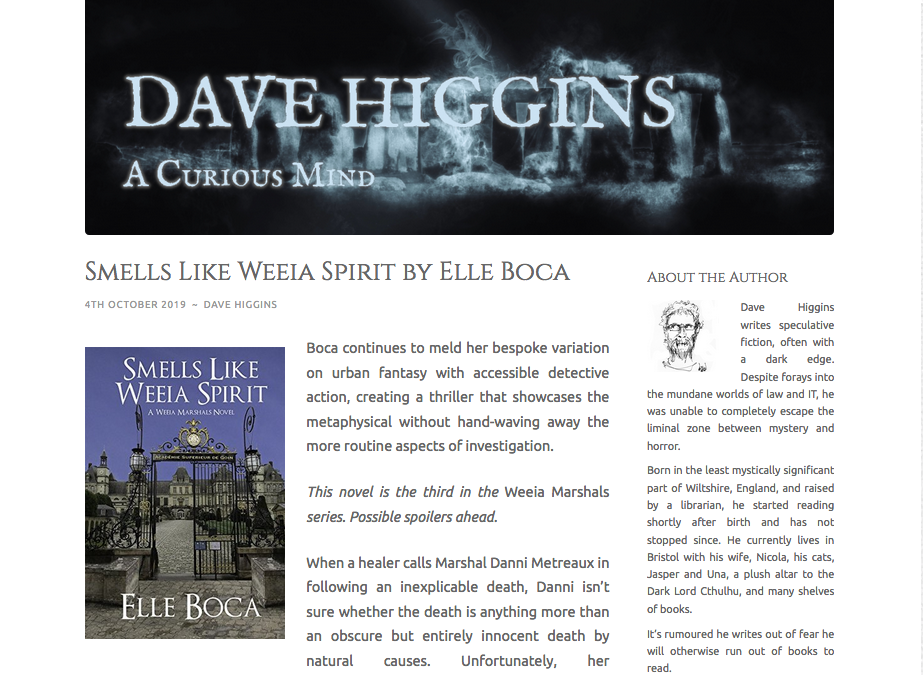 """A thriller that showcases the metaphysical,"" reviewer says of Smells Like Weeia Spirit"