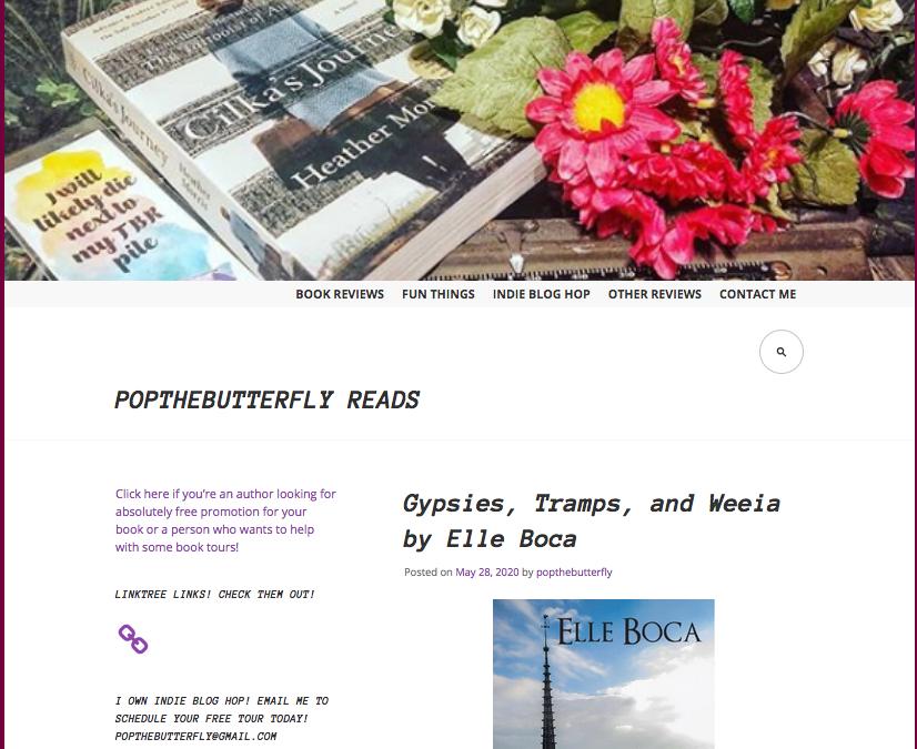 Atlanta website features Gypsies, Tramps and Weeia