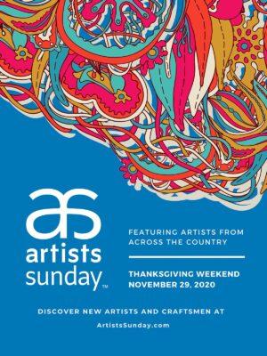 Artist Sunday 2020 poster